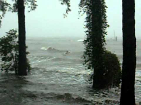 Pamlico River Waves-Irene