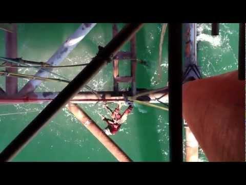 Offshore blasting
