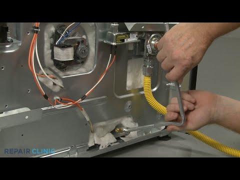 Lower Oven Bake Tube - Kitchenaid Double Oven Gas Range (Model #KFGD500ESS04)