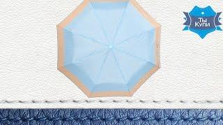 Зонт полуавтомат женский из ткани понж Susino 3960-2 купить в Украине - обзор