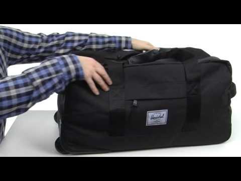 bb418e19b602 Herschel Supply Co. Wheelie Outfitter SKU  8167840 - YouTube