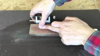 Tutorial 4 - Afilar un formón en 2 minutos - Sharpening a chisel in two minutes