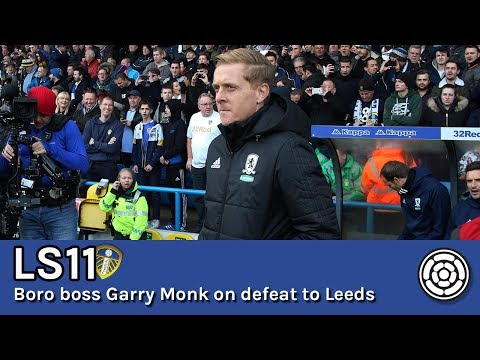 LS11 | Garry Monk unwilling to talk Leeds after 2-1 loss