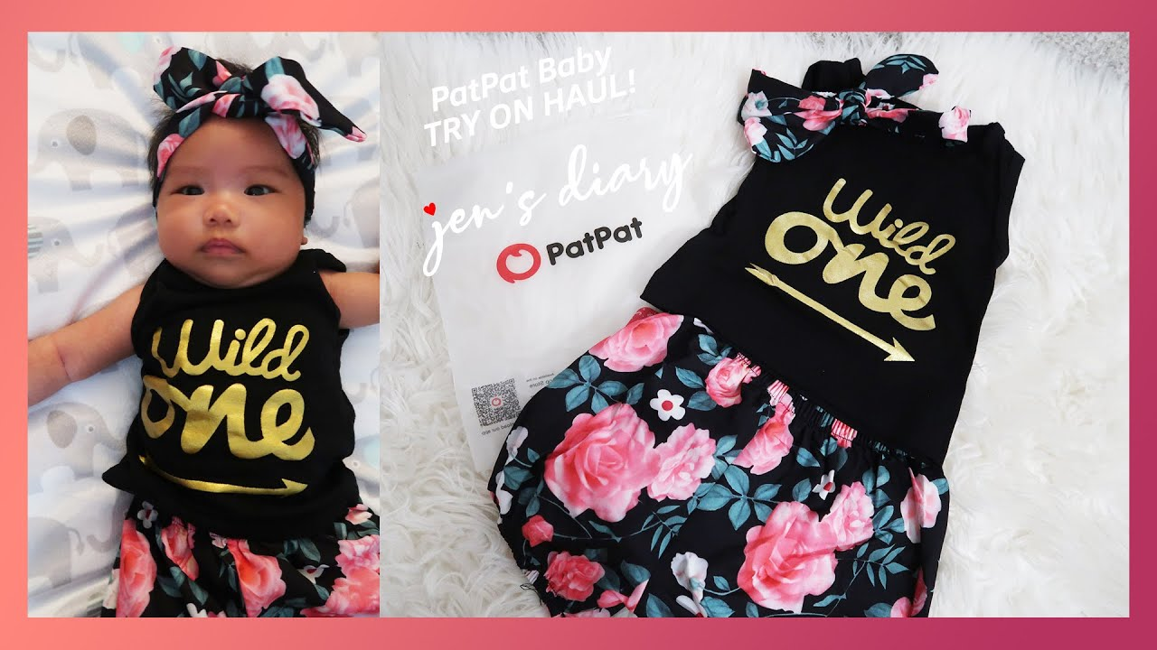 PatPat Baby Try on Haul with Baby Zoe!