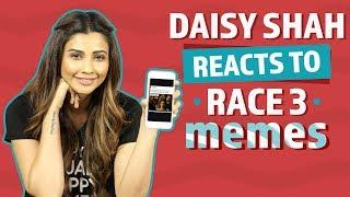 Daisy Shah Reacts to Race 3 Memes | Race 3 | Pinkvilla | Bollywood