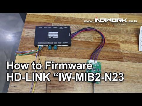 How to firmware HD-LINK IW-MIB2-N23 by 인디웍 indiwork - YouTube