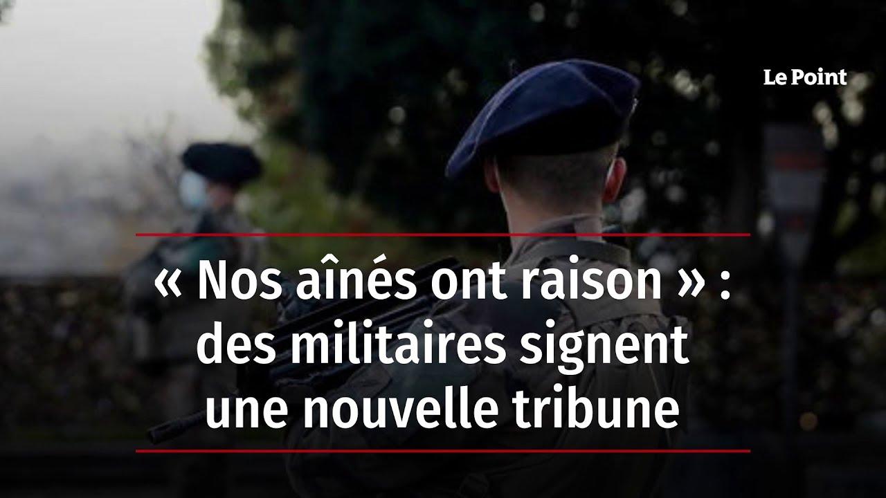 Download « Nos aînés ont raison » : des militaires signent une nouvelle tribune