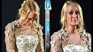 Country Star Carrie Underwood Breaks Down In Tears Over Tragic News She Shared On Stage Last Night