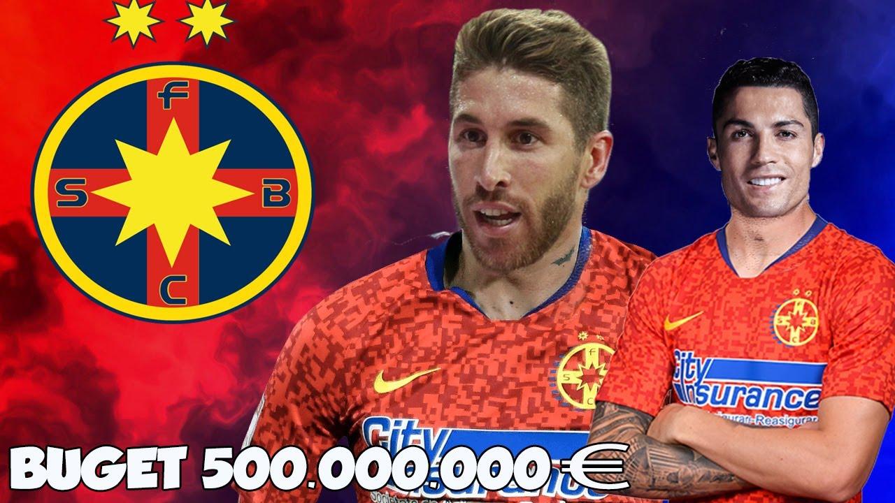 DACA FCSB AVEA BUGET DE 500 MILIOANE EURO IN FIFA 21 !!! ( EXPERIMENT )