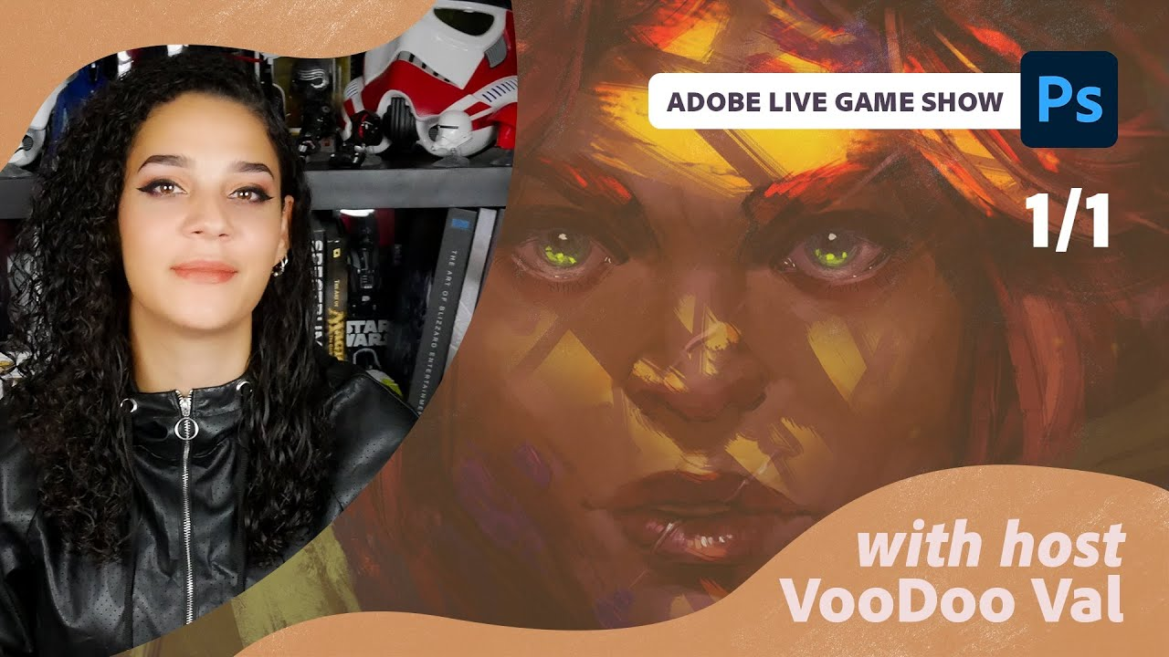 The Adobe Live Game Show with VooDoo Val