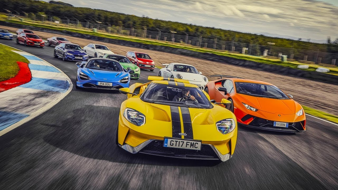 performance car of the year 2017 trailer top gear