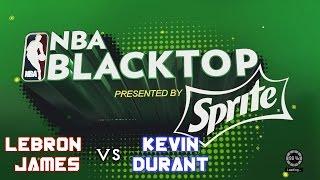 Lebron James vs Kevin Durant | NBA 2K15 Gameplay | Blacktop