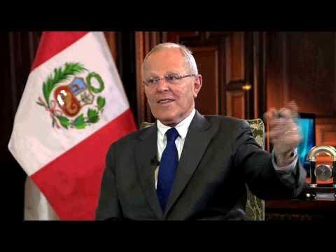 Entrevista al presidente Pedro Pablo Kuczynski a Tv.