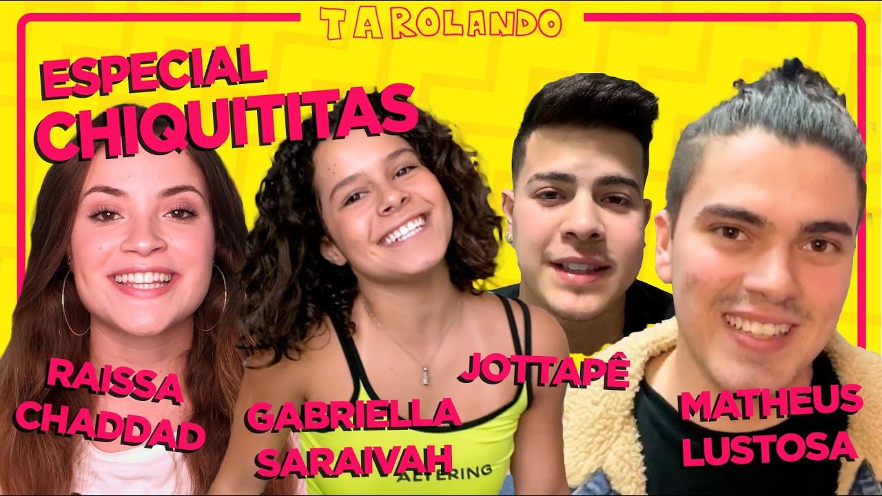 TUDO dos BASTIDORES de CHIQUITITAS com RAISSA CHADDAD, JOTTAPE, GABRIELLA SARAIVAH e MATHEUS LUSTOSA