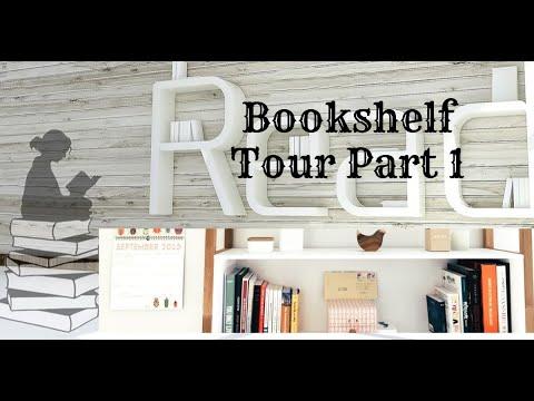 Bookshelf Tour || Book Porn ||Mini  Bookshelf