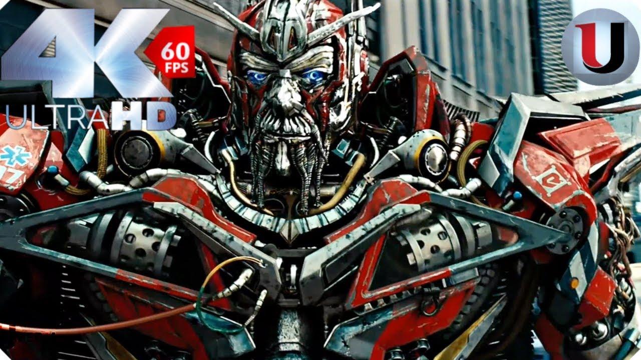 sentinel prime kills ironhide scene transformers 3 dark of the moon