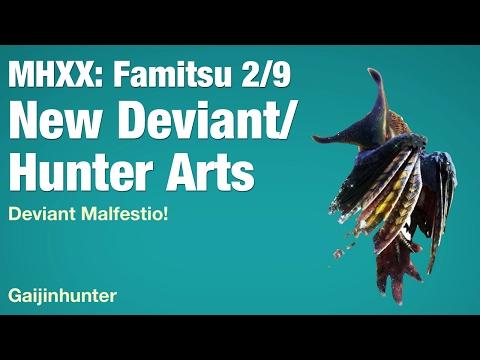 MHXX: Deviant Malfestio and more! (Famitsu)