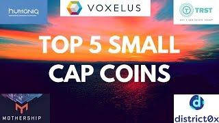 Top 5 Small Market Cap Coins | TRST, VOX, & More!