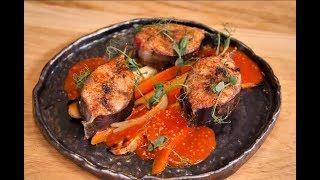 РЫБНЫЙ СТЕЙК / African catfish steak with side dish