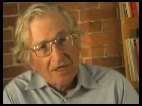 Noam Chomsky On Israel's Policy Of 'Self-Defence'- Palestine