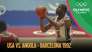 The Dream Team's First Olympic Match - Men's Basketball - Full Game | Barcelona 1992 Replays