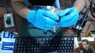 Reparacion Samsung NP300 LED parpadea no enciende. Hablemos de BIOS un poco