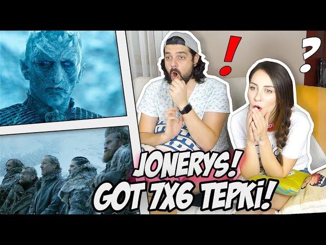 Game of Thrones 7.Sezon 6.Bölümün Çığlık Dolu Anları! GOT 7x6 TEPKİ