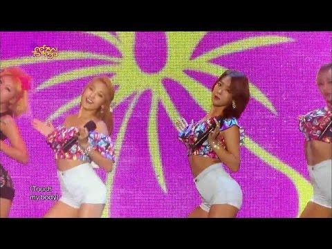 【TVPP】SISTAR - Touch My Body, 씨스타 - 터치 마이 바디 @ Show Music core Live