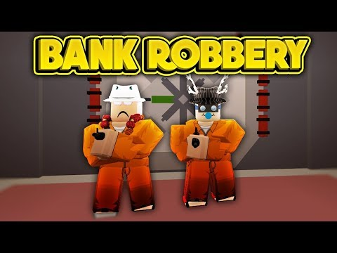 Roblox Jailbreak robbing the bank ft. Svenska killen