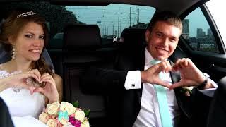 Свадьба на BMW F10 / Автомобиль на свадьбу БМВ / аренда авто на свадьбу