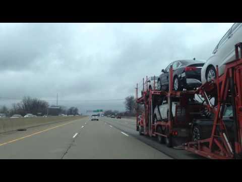 Driving from Bloomfield Hills, MI to Macomb, Michigan