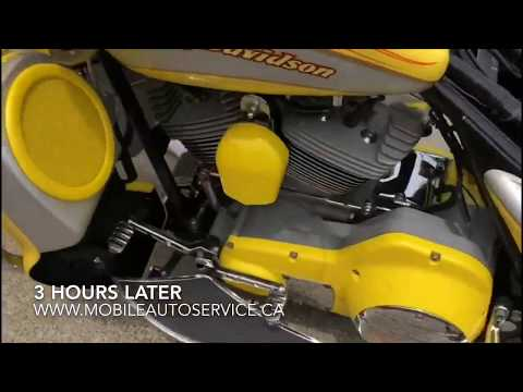 Detailing a Motor Cycle