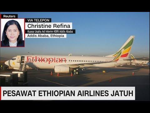 Pesawat Ethiopian Airlines Jatuh, Satu WNI Tewas