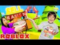 Ryan ate the most EXPENSIVE Ramen in Roblox! Let's Play Roblox Ramen Simulator!