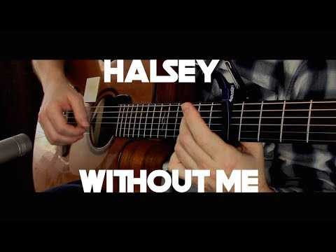 Kelly Valleau - Without Me (Halsey) - Fingerstyle Guitar