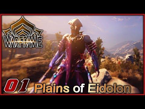 Warframe Plains of Eidolon #01 🐱👤 DAS NEUE UPDATE | Warframe [Deutsch/German]