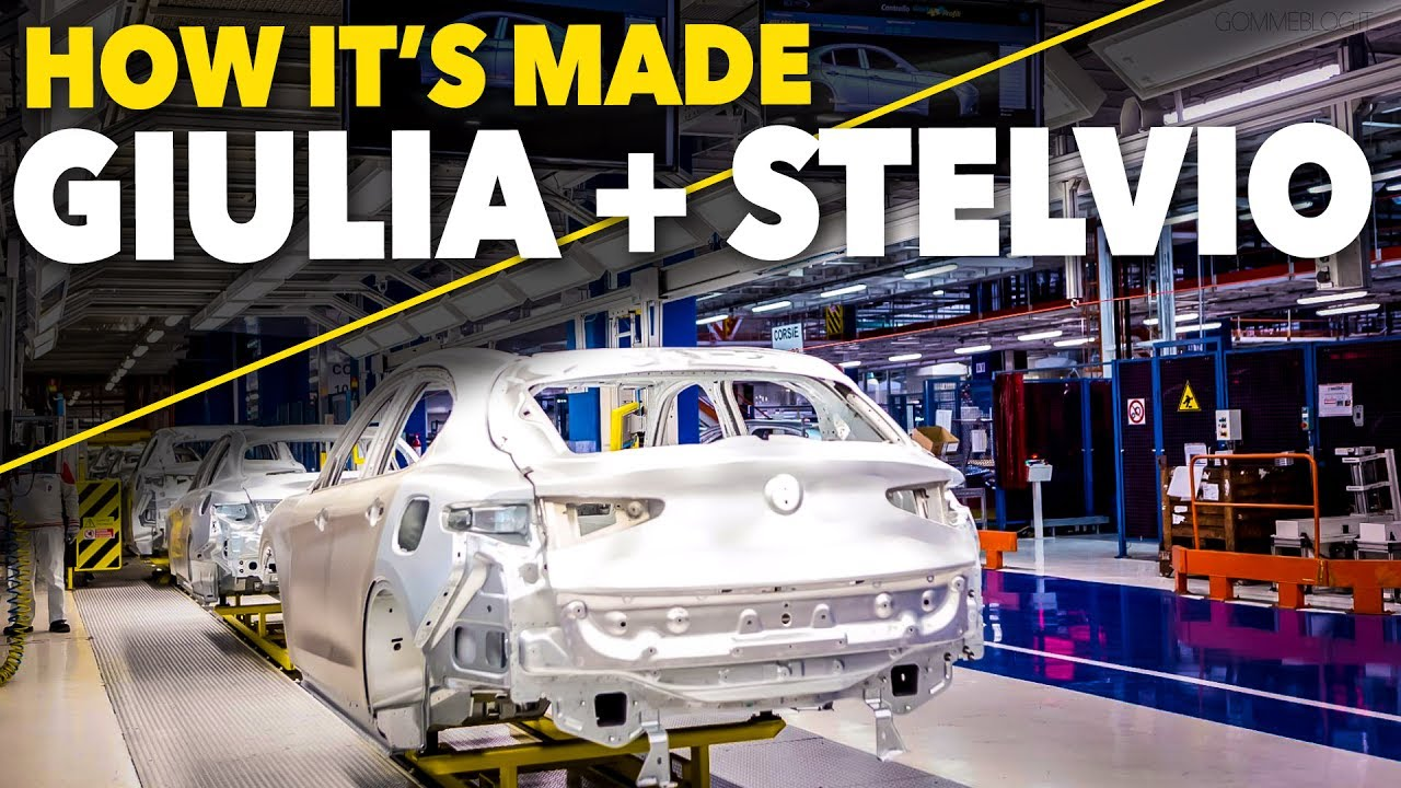 Alfa Romeo Giulia Alfa Stelvio Car Factory How It S Made