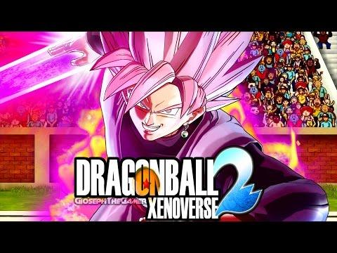 BLACK GOKU SSJ ROSE! NUOVO DLC 3 ASSURDO! Dragon Ball Xenoverse 2 Goku Black Rosè DLC 3 Gameplay ITA