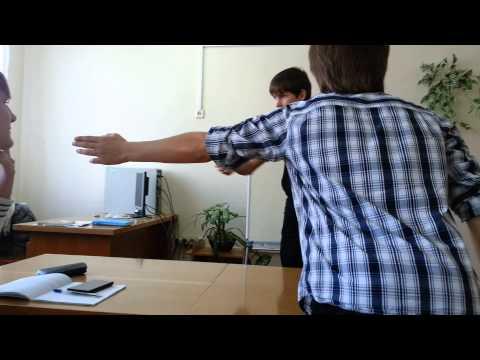 Пабло обозревает одиночную игру  Dinozavrik  на уроке информатики