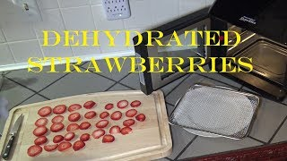 How to Dehydrate Fruit/Strawberries, Power Air Fryer Oven Elite