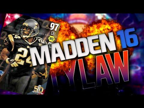 WE GOT SUPERBOWL TY LAW! 97 TORRY HOLT IS OP!   Madden 16 Ultimate Team