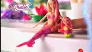 Barbie sereia e mini sereia Splash!Viva o rosa!