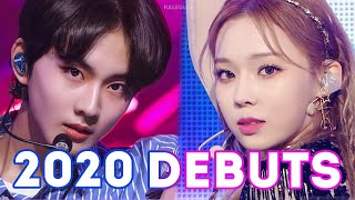 ALL KPOP DEBUTS OF 2020
