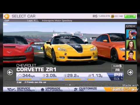 REAL RACING 3 CORVETTE ZR1 VS CORVETTE STINGRAY Z51 TOP SPEED TEST
