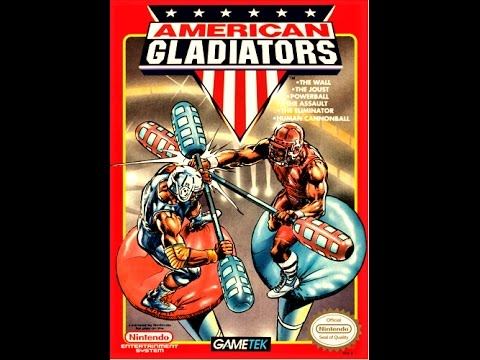 (EPISODE 969) RETRO GAMING: AMERICAN GLADIATORS (NES) NINTENDO OCTOBER 1991