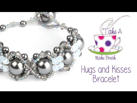 Hugs and Kisses Bracelet | Take a Make Break with Sarah Mill