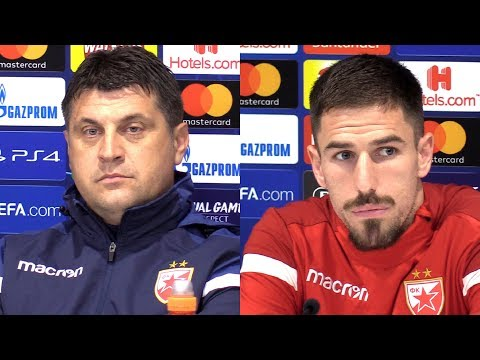 Vladan Milojevic & Milos Degenek Full Pre-Match Press Conference - Liverpool v Red Star Belgrade