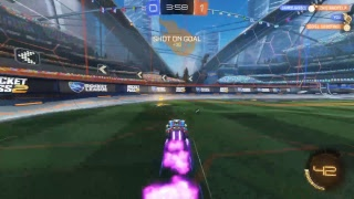 ROCKET LEAGUE PS4 LETTING MY FRIEND PLAY ON MY STREAM!