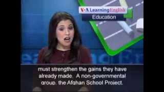 Phát âm chuẩn cùng VOA - Anh ngữ đặc biệt: Afghan Women Progress (VOA-Edu Rep)