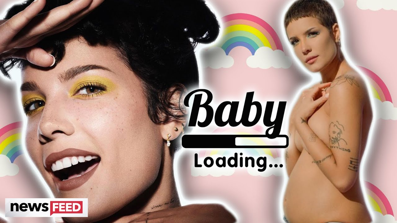 Why Halsey's pregnancy news on Instagram is full of rainbows